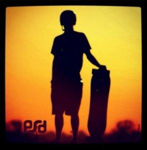 PSD RipTide - Sunset Logo